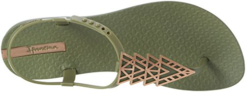 Ipanema Ipanema Charm Iv Sand Fem, Sandales  Bout ouvert femme Mehrfarbig (green/green/bronze)
