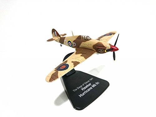 Atlas Kampfflugzeuge WWII - Hawker Hurricane Mk IIc - 1/72 (Réf: 311) (Modell Wwii Flugzeuge)