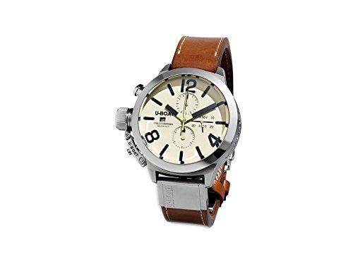U-Boat Classico Automatic Watch, Tungsten, 45mm, Chronograph, 7431/A