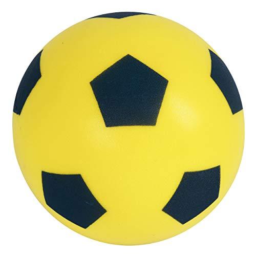 Halsall Schaumstofffußball Größe 5, gelb, Gelb