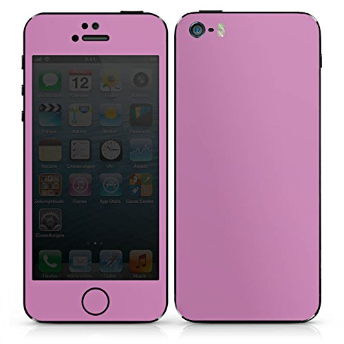 Apple iPhone 4s Case Skin Sticker aus Vinyl-Folie Aufkleber Mauve Lila Purple DesignSkins® glänzend