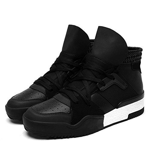 Chaussures Pour Hommes Feifei Winter Leisure Chaussure Haute Marée Résistante À L'usure 2 Couleurs (couleur: Noir, Dimensions: Eu42 / Uk8.5 / Cn43) Noir