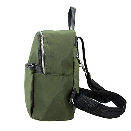 Multi-mo , Damen Schultertasche schwarz schwarz grün