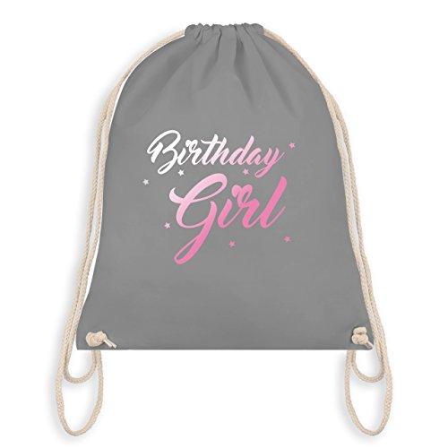 Compleanno - Compleanno Ragazza - Borsa Da Palestra I Palestra Borsa Grigio Chiaro