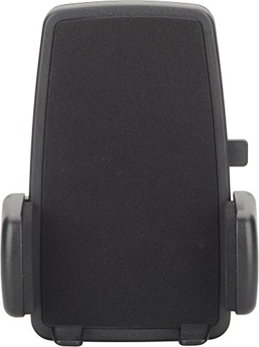 HR GRIP Maxi PDA Gripper 4 Universalhalterung für extra große Smartphones mit einer Breite von 75-100 mm 50011511 (Einhand-Freigabe des Geräts, Moosgummi Gegen Kratzer, Made in Germany), Schwarz Mobile-handy Pda