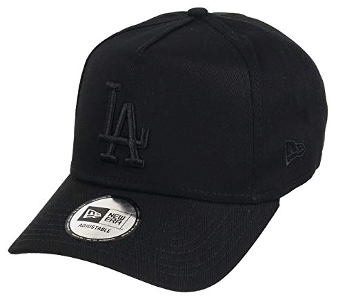 A NEW ERA Era Los Angeles Dodgers Adjustable A Frame Cap League Essential  Black Black bc90d97fdec