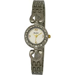 Henley Elegance Women's Fashion Quartz Watch with Mother of Pearl Dial Analogue Display and Silver Stainless Steel Plated Bracelet H4011.4
