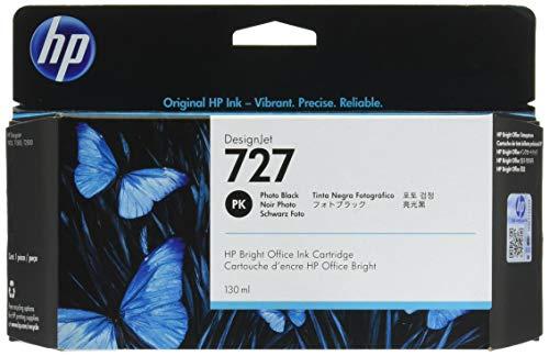 HP 727 Fotoschwarz Designjet Tintenpatrone, 130ml