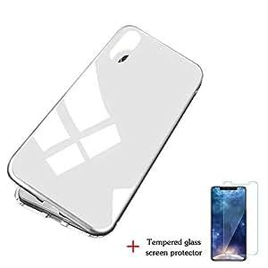 docooler Custodia Magnetica per adsorbimento Case Clear Case per iPhone XS Max