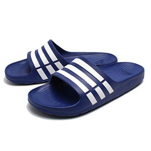 adidas, Ciabatte Uomo Blu/Bianco