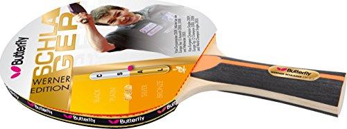 Butterfly racchetta da tennis tavolo Werner oro forma anatomica, 85072
