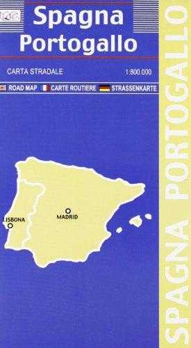 Spagna. Portogallo 1:800.000 (Carte stradali)