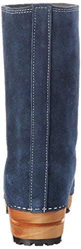 Sanita - Charlotta Boot, Stivali a metà polpaccio con imbottitura leggera Donna Blu (Blau (Navy/Grey 29))