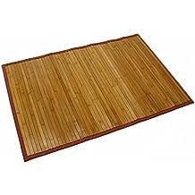 Alfombra de Bambú color Natural (60x90)