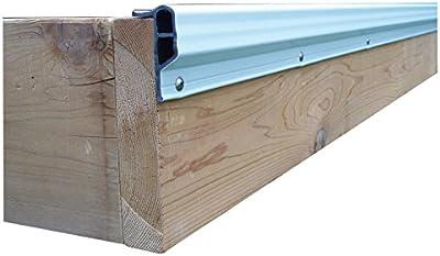 Dock Edge + Economy PVC Profile - Defensas para muelles de amarre, color blanco, talla 3 m