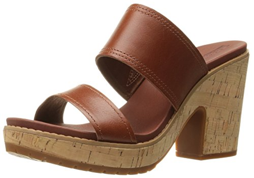Timberland Women's Roslyn Slide Platform Sandal, Medium Brown, 8.5 M US Timberland Womens Heels