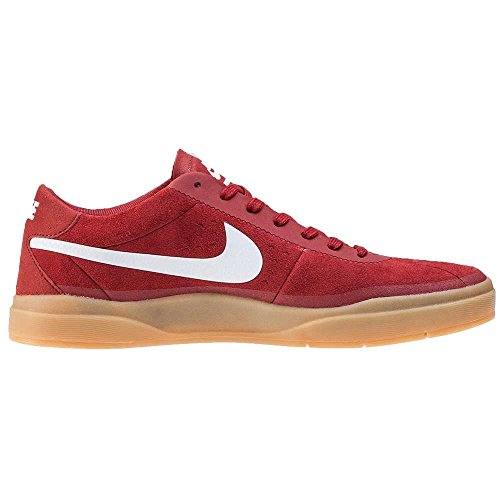 Nike Bruin Sb Hyperfeel, Chaussures de Skate Homme Rojo (Dark Cayenne / White-Gum Light Brown)