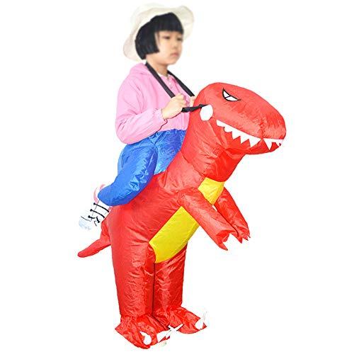BOFEISI Dinosaurier Aufblasbare Kostüm Kinder Cosplay Halloween Tier Fancy Kleid Blasen Wasserdichte ()