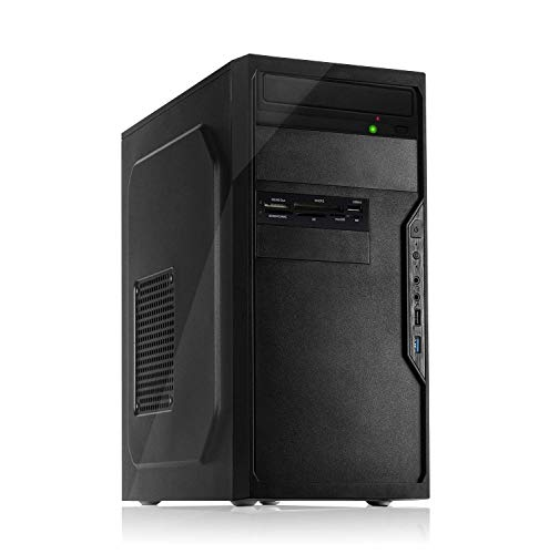 Memory PC Intel i5-9400F 6X 2.9 GHz, NVIDIA GT 710 2GB, 8 GB DDR4, 480 GB SSD Sata3,Windows 10 Pro 64bit, Office PC, Büro Computer