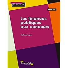 Les finances publiques aux concours