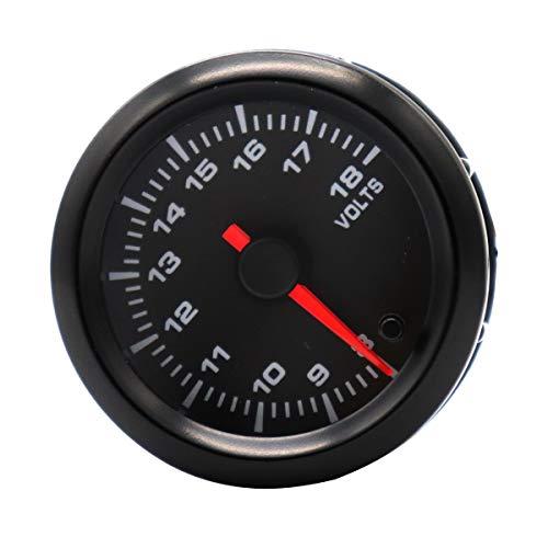 Vosarea Voltmeter verstellbar 7-18 V Hintergrundbeleuchtung, automatisch, 12 V 7