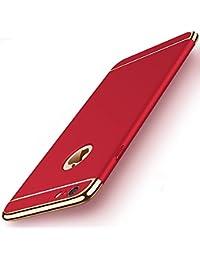 Teryei Funda iPhone 6 Plus/iPhone 6S Plus, 3 en 1 Hard PC Case 360 Degree protección Anti-Scratch Carcasa [Ultra Slim] enchapado Anti-Golpes Case Absorción Bumper pour iPhone 6 Plus / 6S Plus
