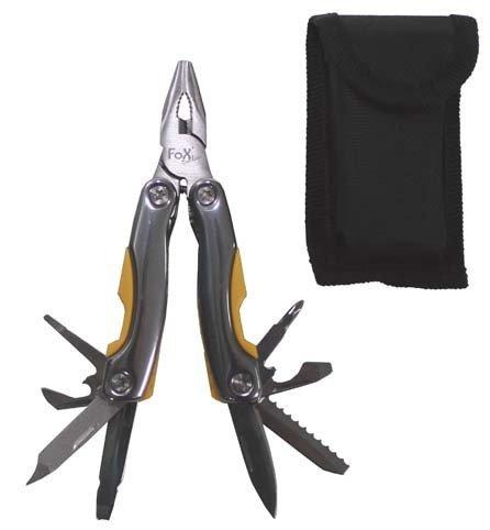 Petits outils de jardin avec pince et plusieurs couteaux