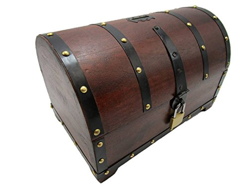 Sjem Hucha bajo-Baúl madera Hucha Regalo caja