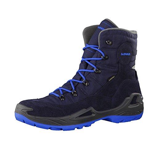 Lowa Unisex-Kinder Rufus Iii Gtx Hi Trekking-& Wanderstiefel Blau