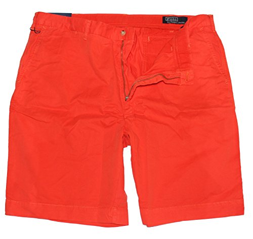 Polo Ralph Lauren Herren Big & Tall New Westport Chino Shorts, Orange (Big Lauren And Tall Ralph Polo)