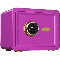 TQMB-A Caja Fuerte con la Huella Digital, el gabinete portátil Inicio/Viajes Pequeño Armario de Seguridad para mesita de Noche, Color Opcional,4