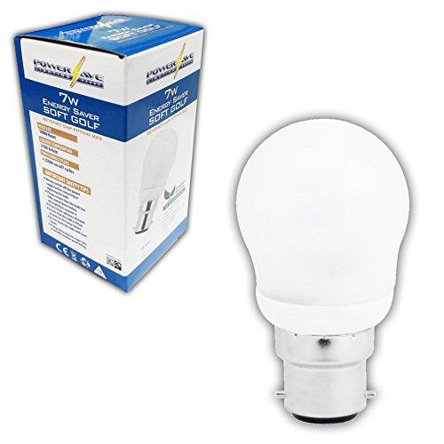 10x 9W = 40W Energiesparlampe Kompaktleuchtstofflampe Kerze Leuchtmittel. Bajonettsockel BC (B22) Anbringung.