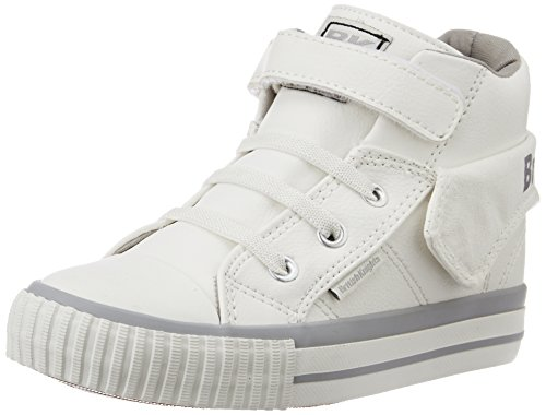 British Knights Roco, Baskets Basses Femme BLANC/GRIS CLAIR