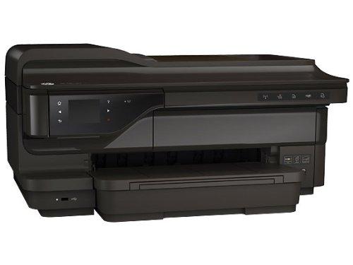 HP OfficeJet 7610-CR769A Multifunktion Großformatdrucker (Drucker, Scanner, Kopierer, 4800 x 1200 dpi, WiFi, USB 2.0) schwarz