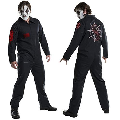 Kapmore Herren Kostüm Overall Kreativ Cosplay Outfits Party Kostüm Für Halloween (Herren Kostüm Kreativ)