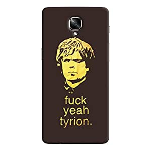 ColourCrust OnePlus 3 Mobile Phone Back Cover With Tyron From Game Of Thrones - Durable Matte Finish Hard Plastic Slim Case