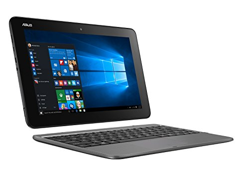 "Asus T101HA-GR029T Transformer Book, Display 10.1"" HD, Intel Atom Z8350, RAM 4 GB, 64 GB eMMC, Windows 10, Grigio"