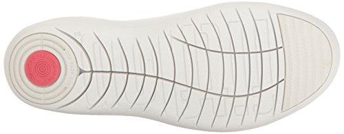 FITFLOP F-SPORTY H55194 bianco scarpe donna sneakers lacci pelle Bianco (Urban White)