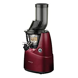 Kuvings KVG BM RD B Whole Slow Juicer Estrattore di Succo, Rosso