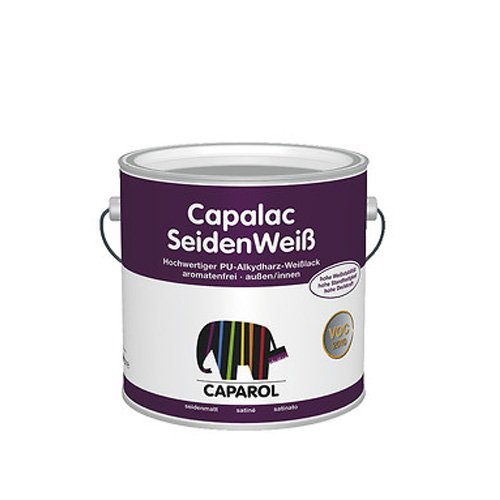 Caparol Capalac Seidenweiß 2,5 Liter Weiß