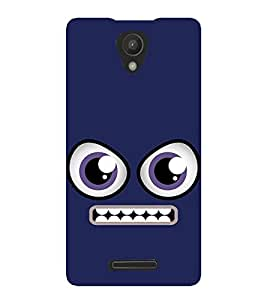 FUSON Angry Smiley Emoticon 3D Hard Polycarbonate Designer Back Case Cover for Xiaomi Redmi 3s :: Xiaomi Redmi 3s Prime :: Xiaomi Redmi 3 Plus