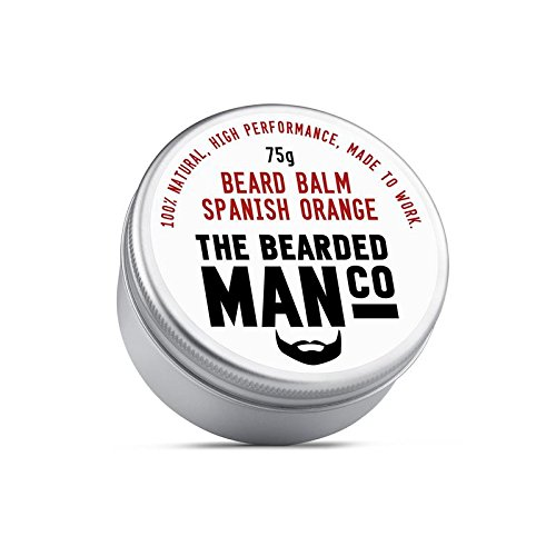 The Bearded Man Beard Balm 75g Spanish Orange