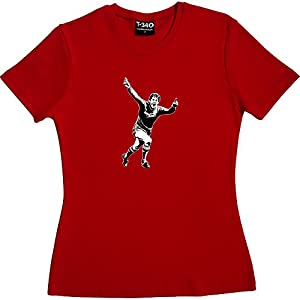 Kenny Dalglish Red Women's T-Shirt Size 8 (S)