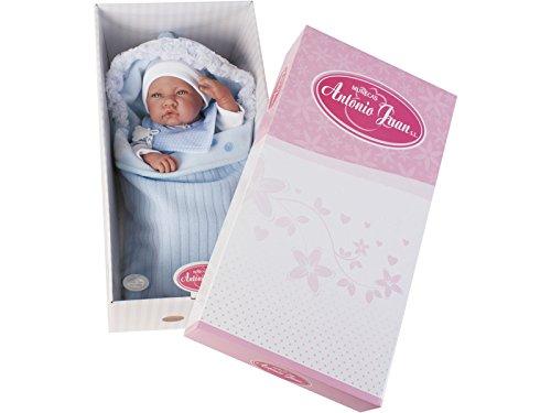 Antonio Juan 5065 - Bambolotto bebè con sacco nanna