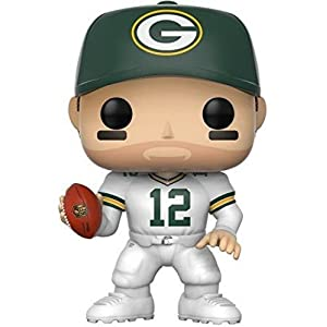 NFL Figura de vinilo Aaron Rodgers Green Bay Color Rush Funko 20165