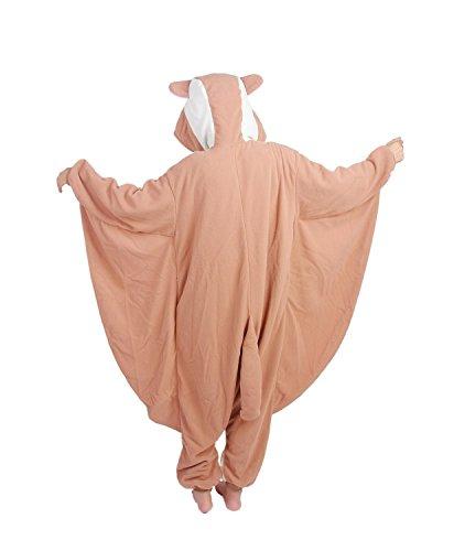 Honeystore Jumpsuit – Pyjama Cosplay Fliegendes Eichhörnchen - 2