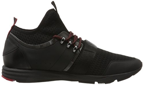 Hugo Herren Hybrid_runn_knvl 10201504 01 Sneaker Schwarz (nero)