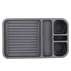 Sepia Car Passenger Seat Mini Bar (Grey)