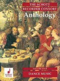 ANTHOLOGY 4 - DANCE MUSIC - arrangiert für Blockflöte - Ensemble [Noten / Sheetmusic]