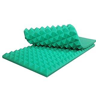 Akustik Pyramiden Schaumstoff Akustikschaumstoff 90x45x7 Grün P089_02